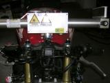 Laserové měření motocyklových rámů